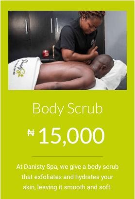 health and beauty home service body scrub