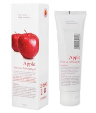 Silk Touch Apple Water-based lube (100ml)
